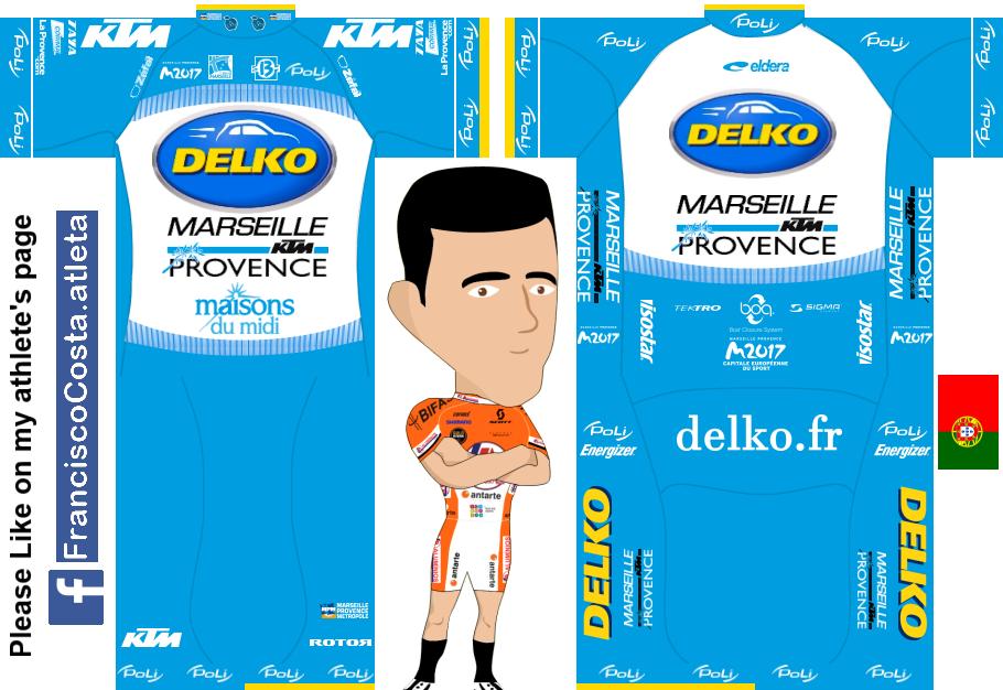 Delko Marseille 13 - Provence KTM Dmp_maillot
