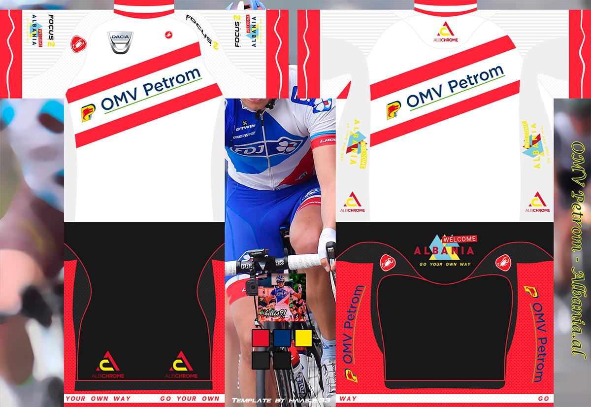 Main Shirt for OMV Petrom